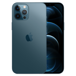 Iphone 12 pro max blue hero